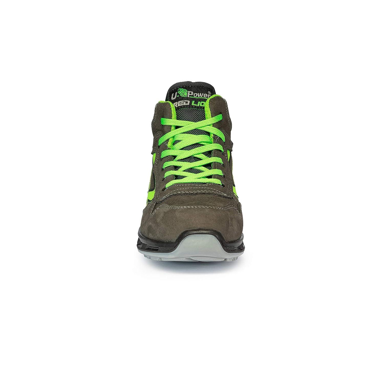 U-Power RL10174 Chaussures de S/écurit/é Gris//Vert S3 SRC Taille 37