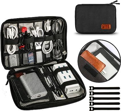 Kabeltasche Reisetasche Klein Power 9 Für Banks Usb Festplatte Electronic Zubehör Organizer Uneede 6 Aufbewahrung Tasche Zoll 4x6 Kable Travel CodeBrx