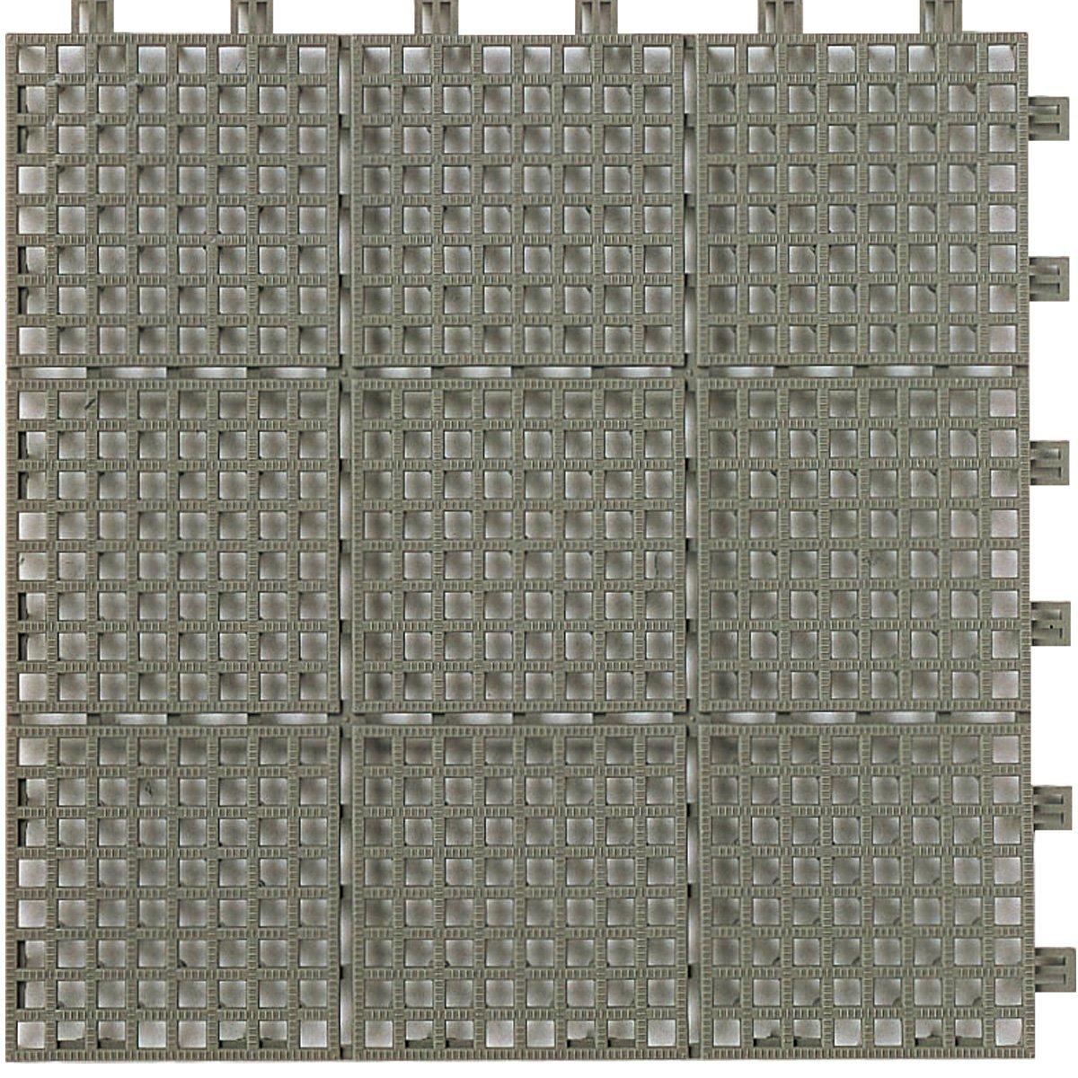LIXIL(リクシル) INAX バルコニー用ユニットタイル セライージー副部材 納まり用樹脂マット グレー TFU-F300/SG B01ERPT1S0 10335  グレー