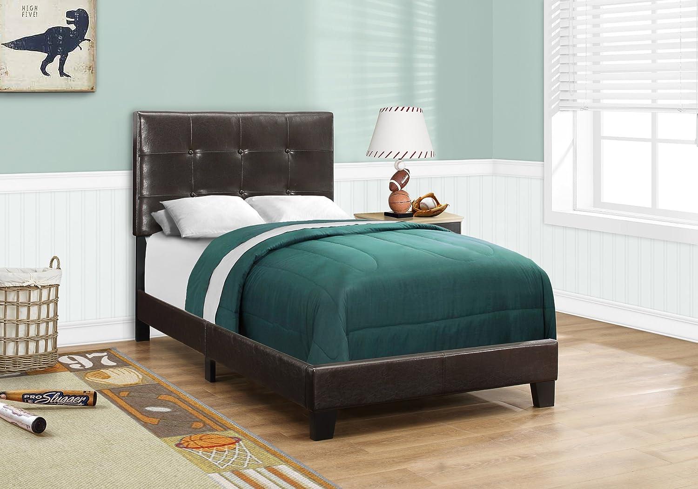 Monarch Specialties Bed Frames, Twin, Brown