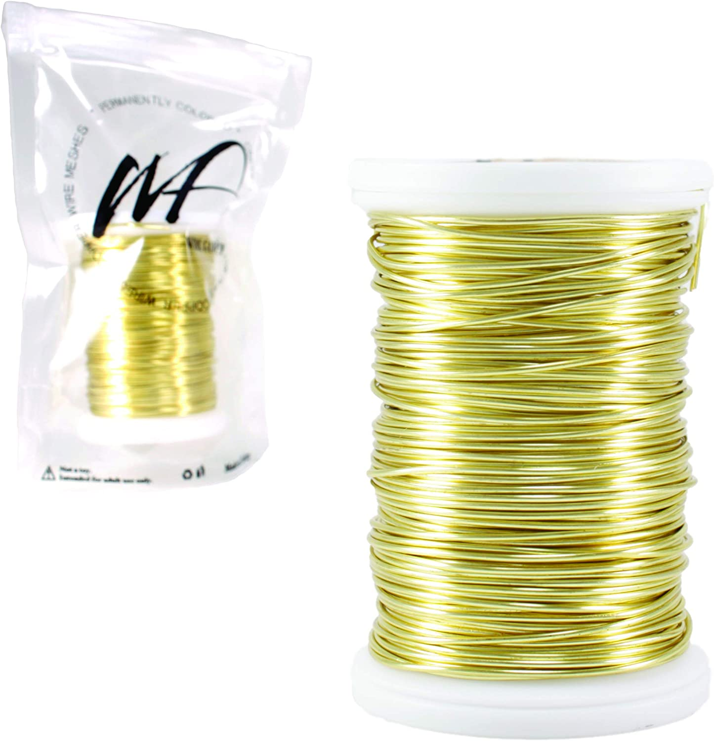 Wire Fancy 18 Gauge Tarnish Resistant Silver-Plated Copper and Copper Jewelry Making Wire 15 Yards 45 feet 18 Gauge, Bulk Copper 100 Grams