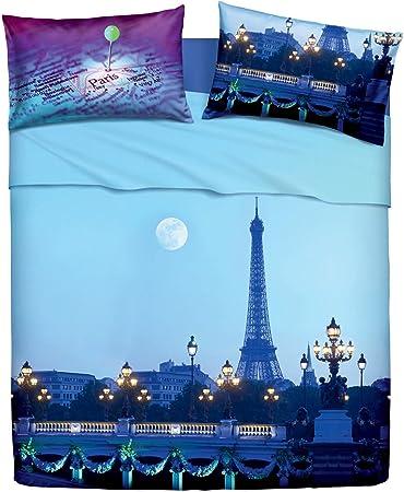 Lenzuola Matrimoniali Parigi.Set Lenzuola Parigi La Tour Matrimoniale Amazon It Casa E Cucina