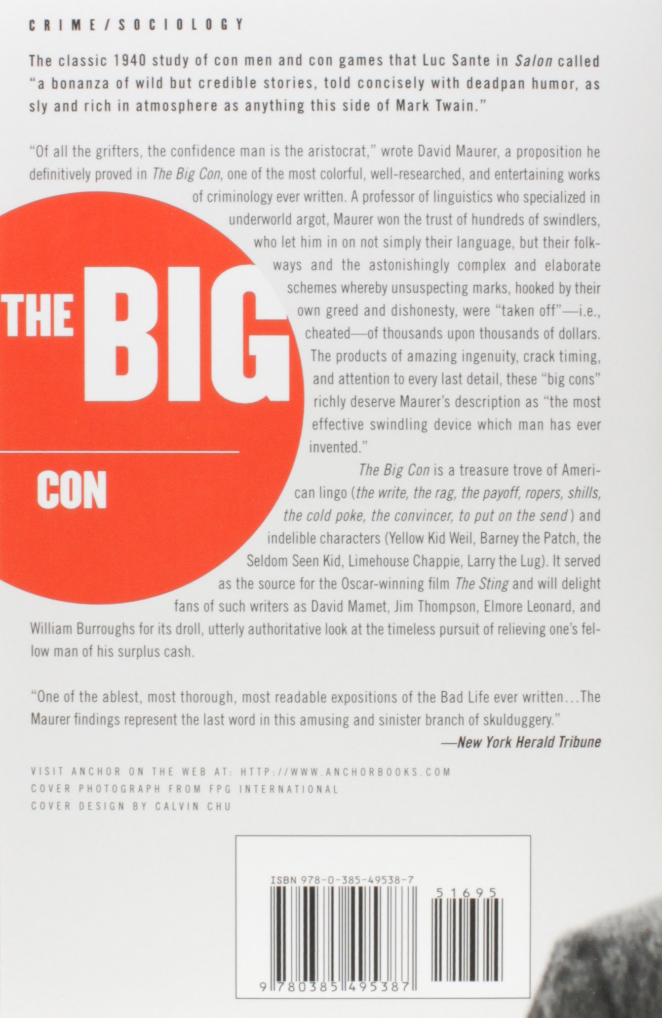 The Big Con: The Story of the Confidence Man: Amazon.de: David ...