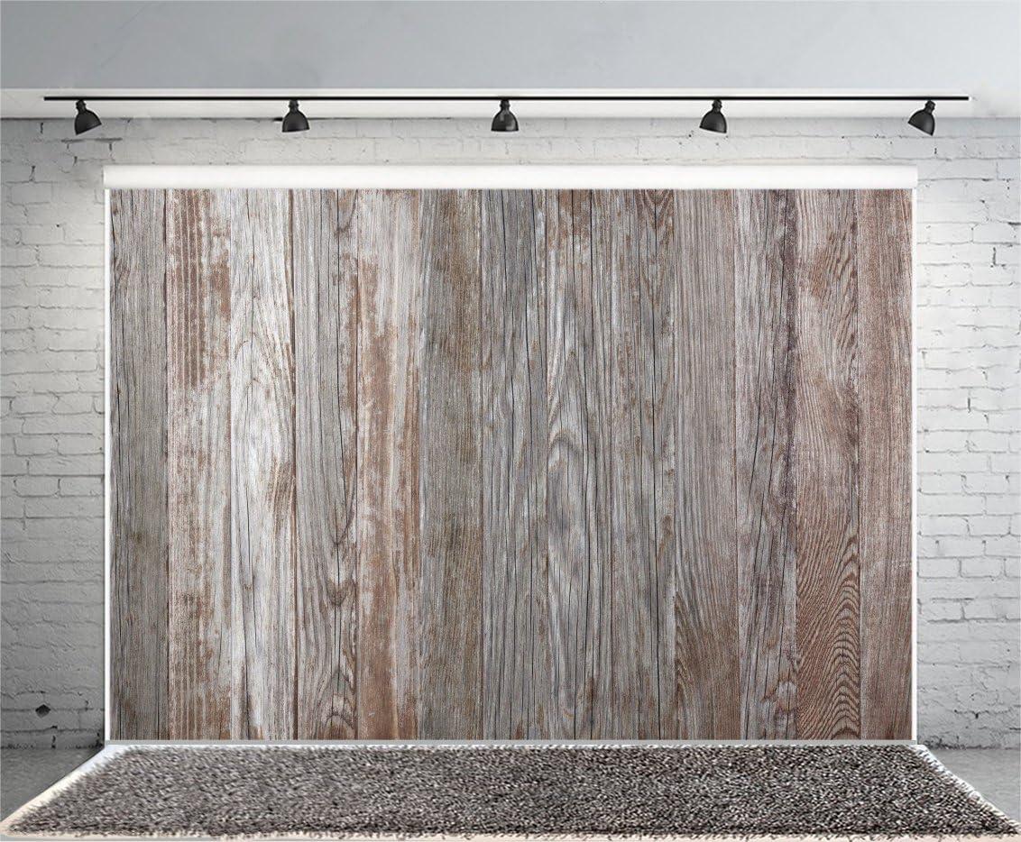 Leyiyi 5 x 3 ft Fotografía Fondo Vintage Grunge tabla de madera fondo de textura de madera dura publicidad Exposición de la cartel de la valla del bautizo, tabla de patinaje del