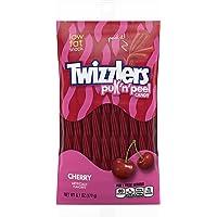 Hersheys Twizzlers Pull Peel Cherry, 6,10-Ounce