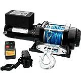Elektrische ATV Seilwinde 4000 Lbs Funk Kunststoffseil Dyneema