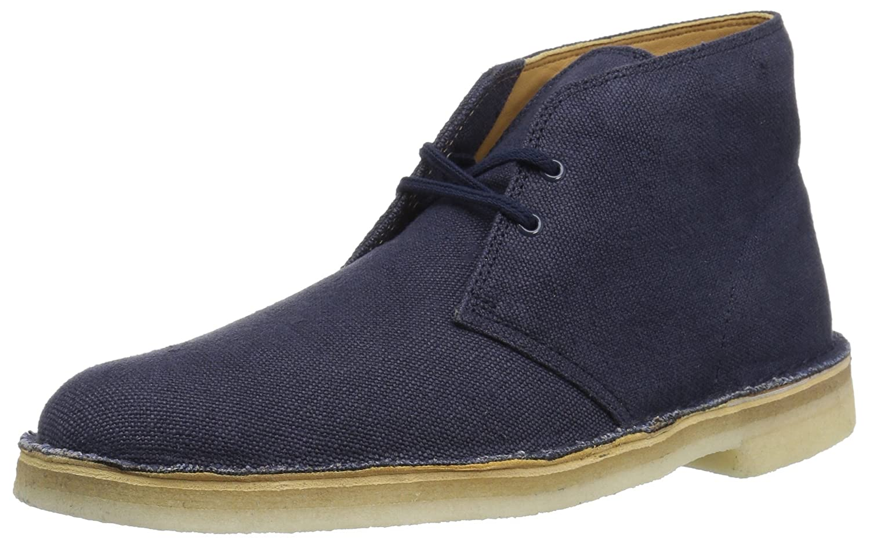 Navy Fabric Clarks Originals Men's Desert Boot