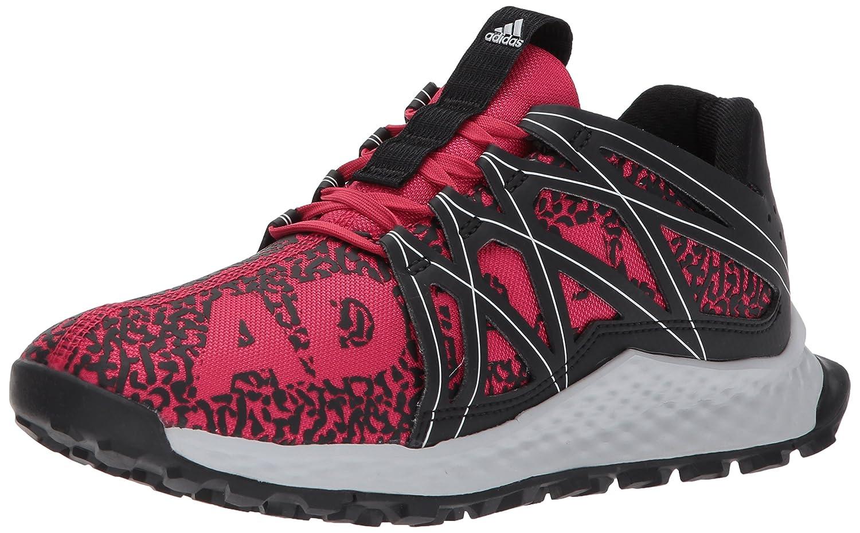 adidas Women's Vigor Bounce W Trail Runner B01NCB9F7V 7 B(M) US|Black/Energy Pink/Light Solid Grey