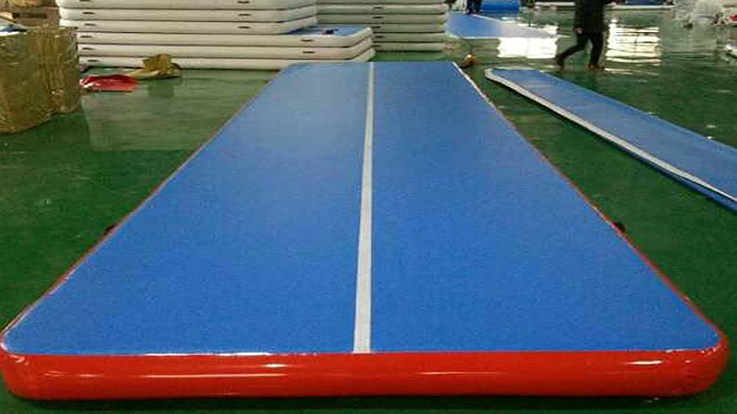 Inflatable Gymnastics Mat 3M 4M 5M 6M Air Tumble Track Thick 10//20CM Tumbling Mat for Home Use,Daily Training,Park