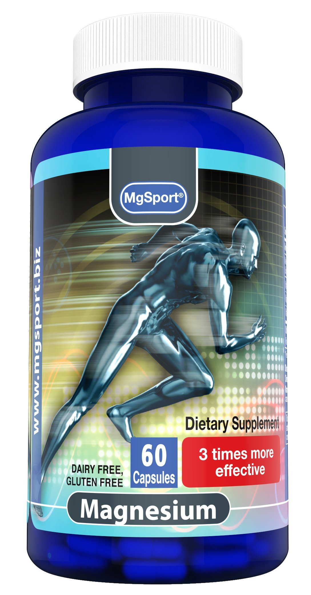 High Absorption Magnesium for Leg Cramps and Sore Muscles, Restless Leg Syndrome Relief (RLS