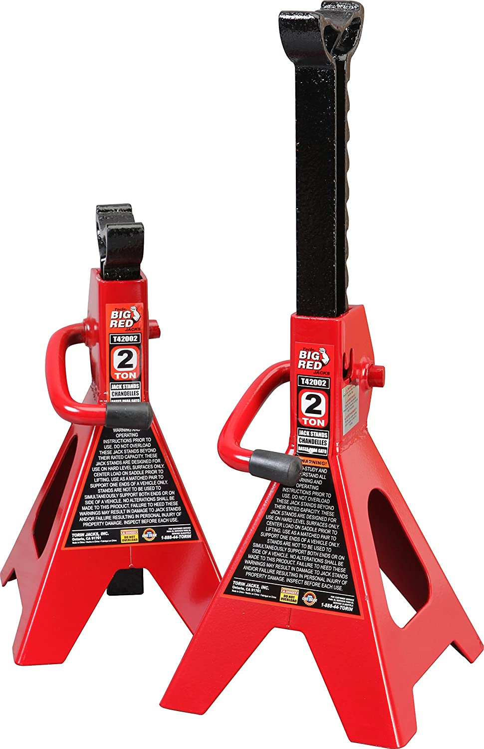 Best Car Jacks Torin Big Red Steel Jack Stands
