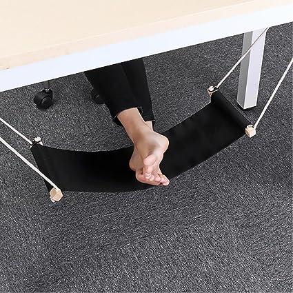 Bianco Eizur Piedi Amaca Poggiapiedi Regolabile Resto del Piede Scrivania Amaca Supporto sotto la scrivania Facile da smontare per casa e Ufficio