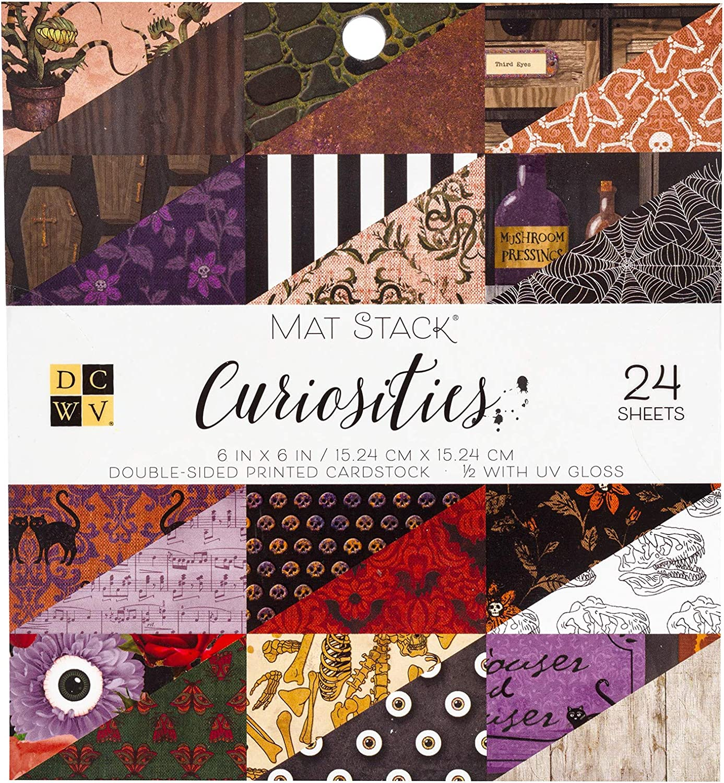 Multi DCWV 615612 Curiosities Cardstock