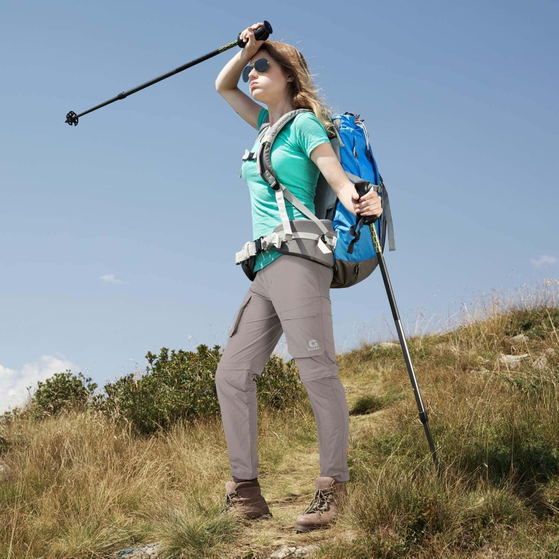 Super Lightweight Gonex Womens Stretch Quick-Drying Convertible Hiking Pants