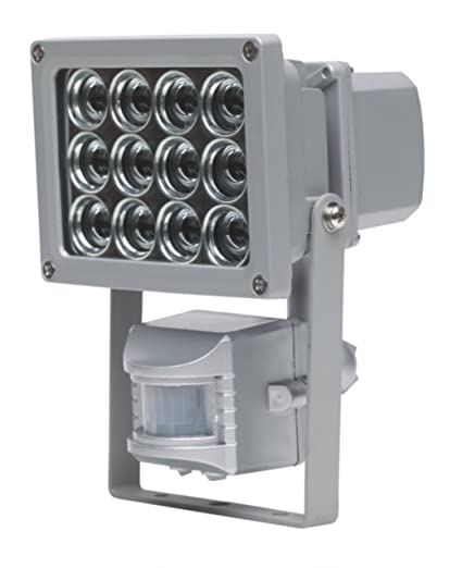 as - Schwabe 46910 - Foco LED con sensor de movimiento (12 W, para