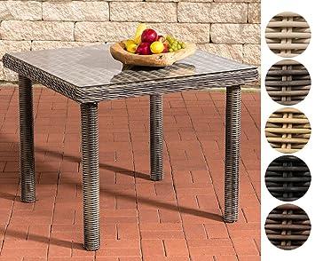 Polyrattan Tisch 90x90.Clp Polyrattan Gartentisch Puerto Rico Mit Einer Tischplatte