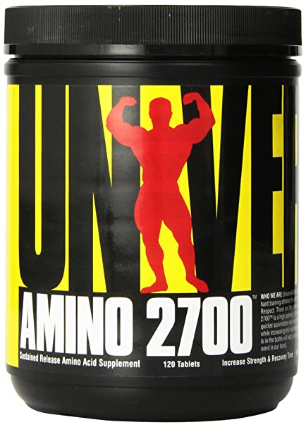 Amazon.com: Universal Nutrition Amino 2700, 120 Tablets: Health & Personal Care