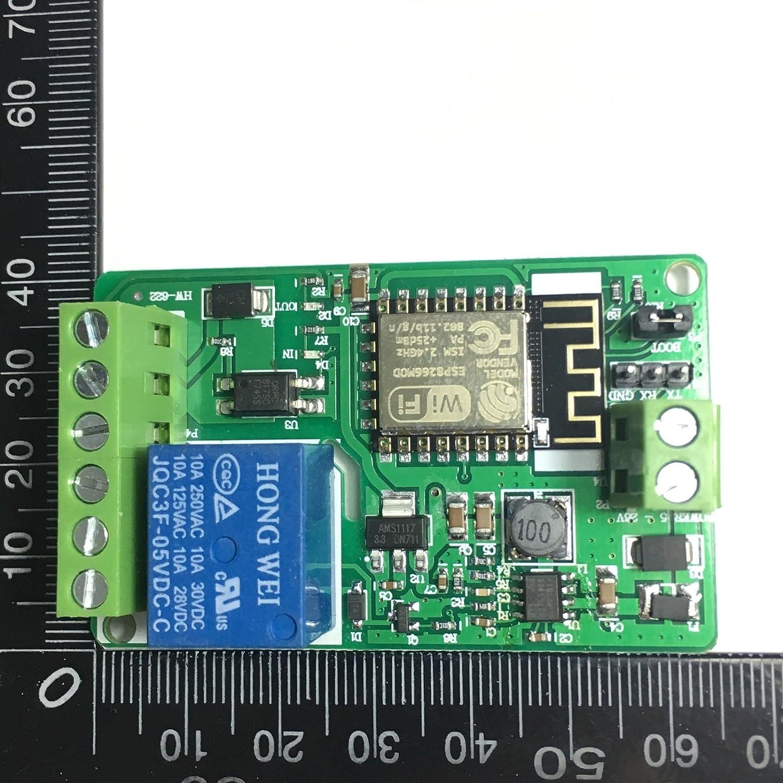 ESP8266 WIFI Relay Module Control Network Relay ESP8266
