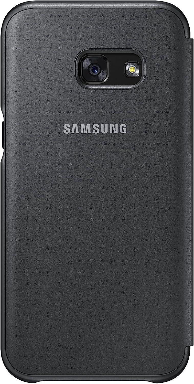 Samsung Neon Flip Cover - Funda para Galaxy A3 2017, color negro ...