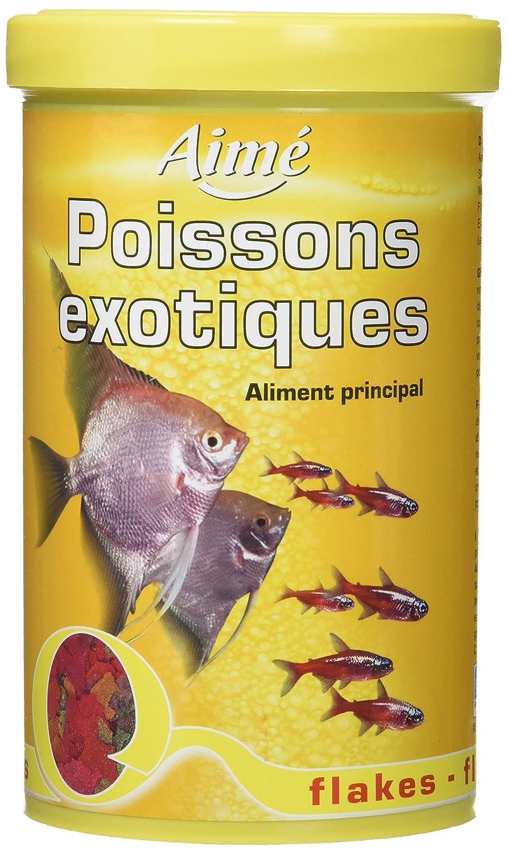 Aime Nourriture Poissons Exotiques Flocons 1 L pour Aquariophilie Agrobiothers A3606