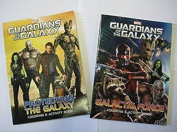 Marvel Guardianes de la Galaxia Coloring & Activity Book Set (2 ...