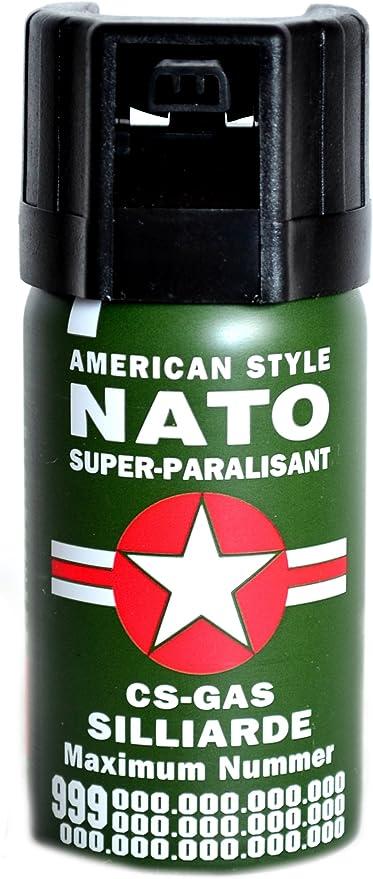 Pfefferspray a 40 ml KO-Spray Reitgas CS Gas Verteidigungsspray NATO Pepper  Spray Tierabwehrspray (8): Amazon.de: Küche & Haushalt