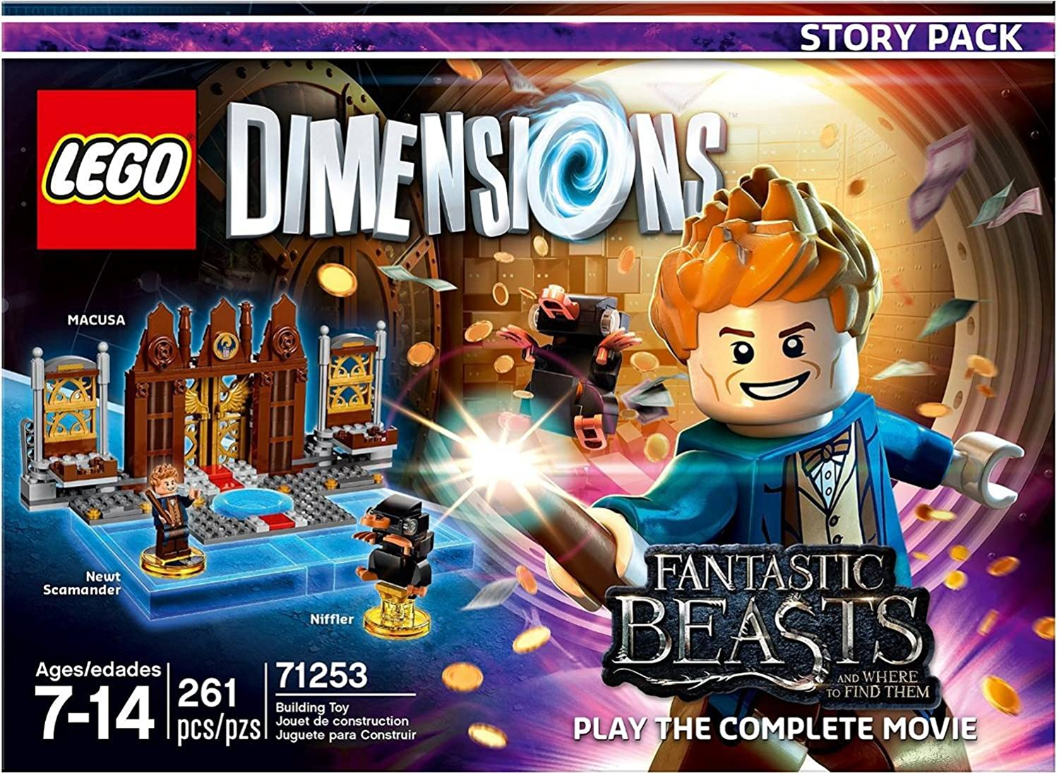amazon com fantastic beasts story pack lego dimensions not