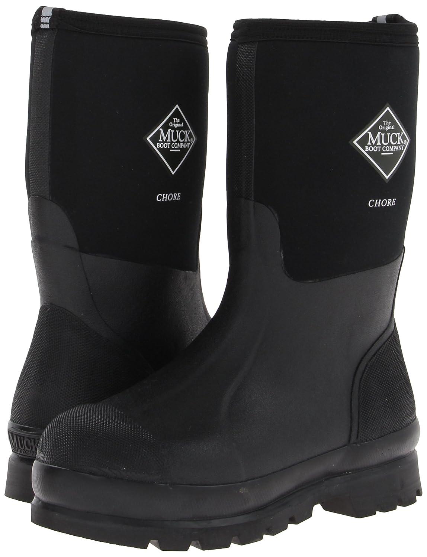 Muck Erwachsene Boots Chore High, Unisex Erwachsene Muck Arbeits-Gummistiefel Schwarz (Black/Black) 911ba2