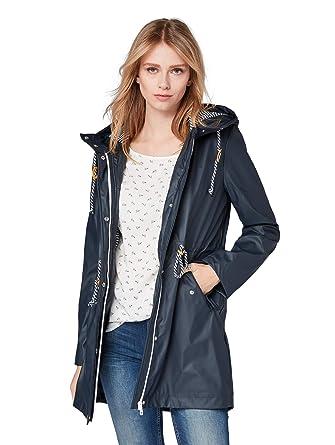 dc43083b83b7 TOM TAILOR Denim für Frauen Jacken   Jackets Regenmantel Deep Ocean Sea, ...