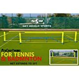 ProCourt Mini Tennis & Badminton Combi Net - 10'/20'/30'