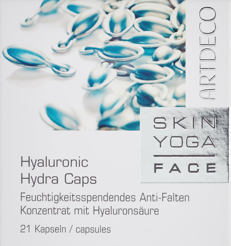 Artdeco femme Face Yoga Piel/mujer, Caps hialurónico Hydra (21 cápsulas), 1er Pack (1 x 21 piezas)
