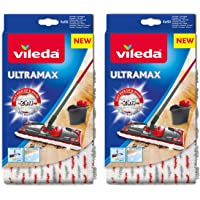 Vileda Ultramax/1–2 Spray Recharge en microfibre – Lot de 2