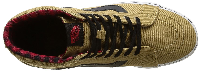 Vans Unisex Sk8-Hi Reissue Skate Shoes B011JJTAK6 8 M US Women / 6.5 M US Men|Cornstalk / Black