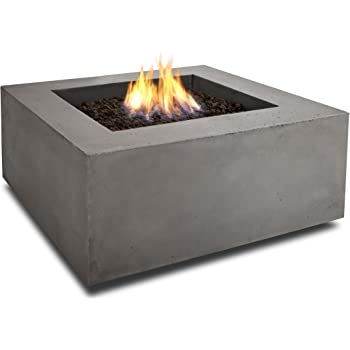 Amazon Com Real Flame T9620lp Baltic Square Propane Fire