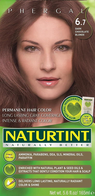 Amazon.com : Naturtint Permanent Hair Color - 6.7 Dark Chocolate ...