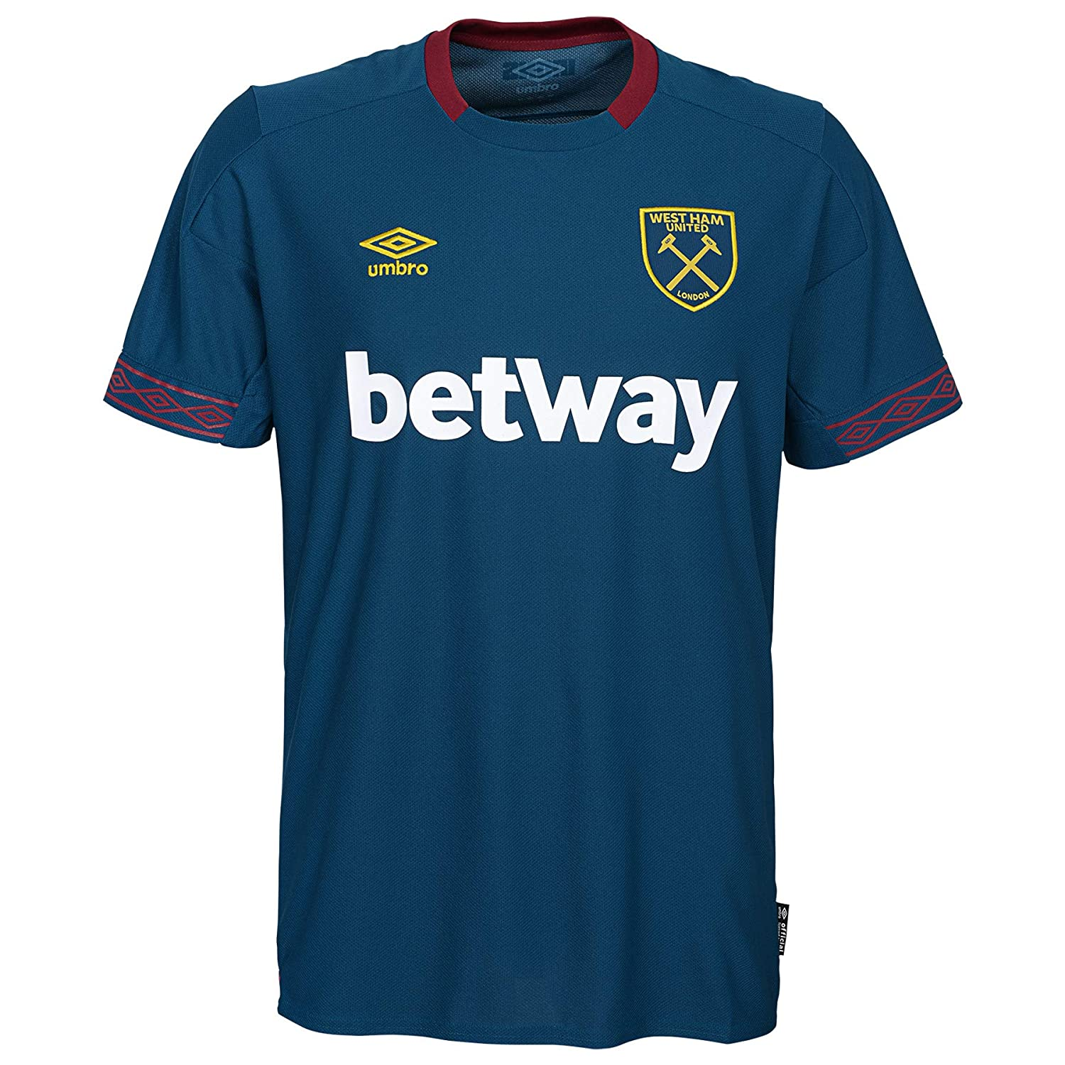 best sneakers cc7fa 6e5a6 Amazon.com: Umbro WEST HAM United FC 2018-19 Away Jersey ...