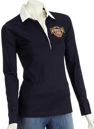 Tommy Hilfiger Bingley Polo 1 m80237719 - Camiseta de Mujer Azul ...