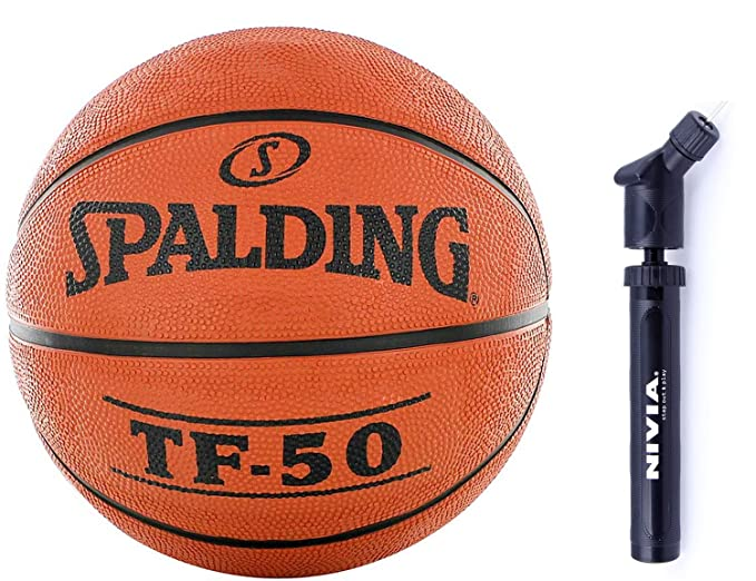 Spalding baloncesto Combo (Spalding TF 50 baloncesto - tamaño 7 ...