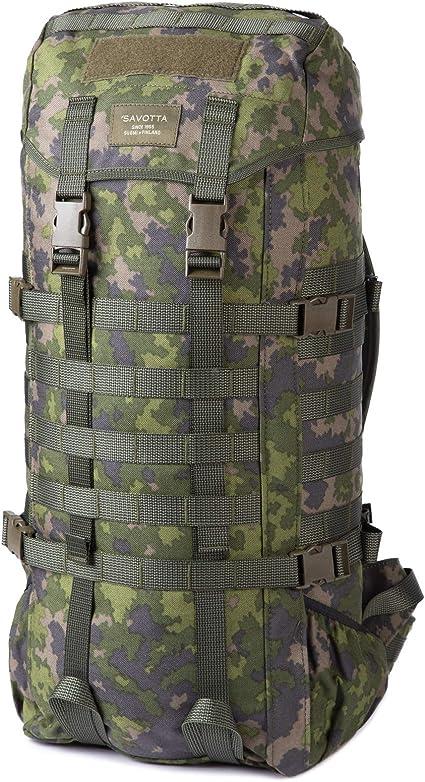 SAVOTTA JÄGER M GREEN BLACK /& CAMO M05 Militärrucksack Outdoorrucksack