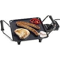 Bestron Elektrische Plancha-/Teppanyaki-Grillplatte mit Antihaftbeschichtung