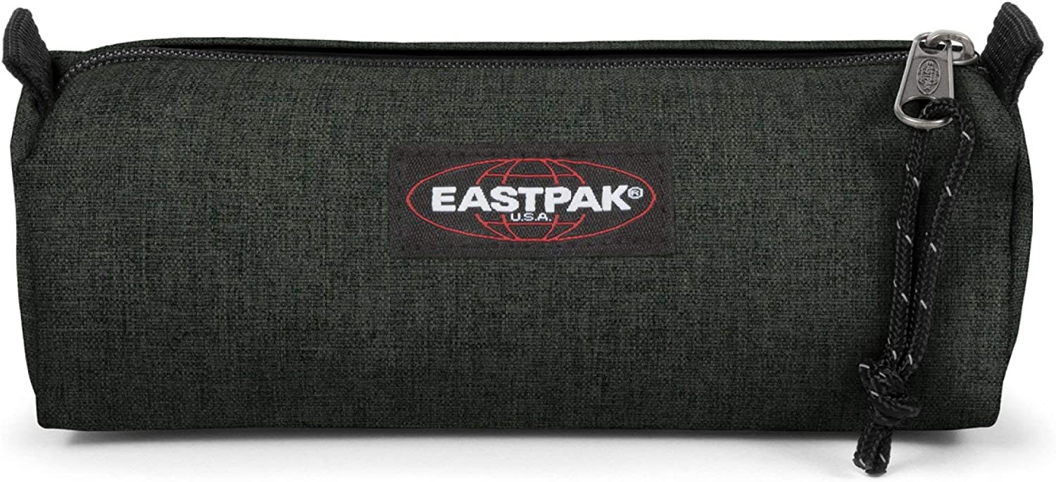 Eastpak Benchmark Single Estuche, 21 cm, Verde (Crafty Moss)