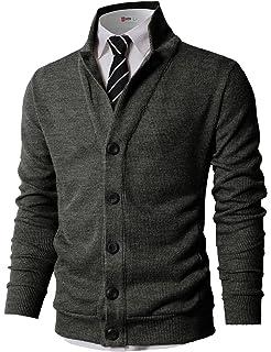 59f256ab5 LINGMIN Men's Herringbone Wool Blazer Jacket 2 Button Casual Working ...