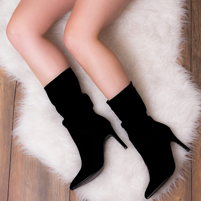 Spylovebuy Forbidden Fruit Damen High Heel Stilettoabsatz Stiefeletten Stiefeletten Stiefeletten Schuhe d1f43c
