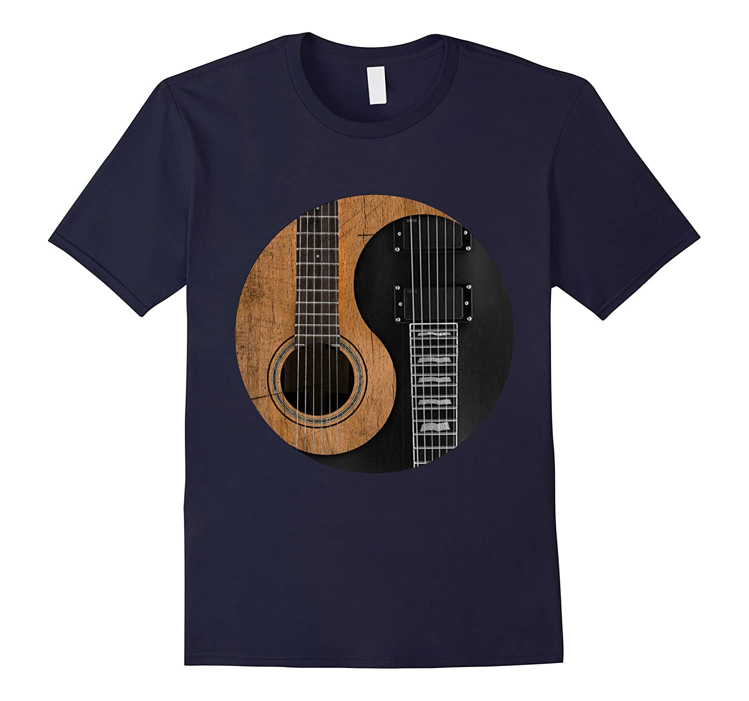 Guitar Yin Yang shirt - Best gift for Guitar Lover 2016-azvn