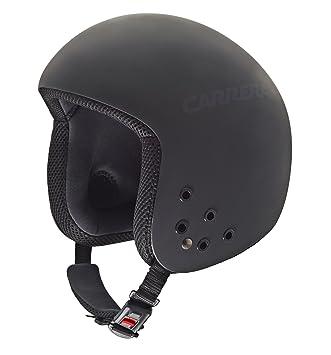 Carrera Bullet - Casco de esquí, Color Negro Mate, Talla M