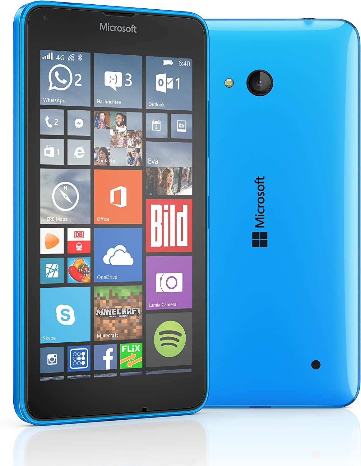 Microsoft Lumia 640 LTE - Smartphone libre Windows Phone (pantalla ...