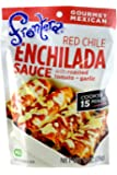 Frontera Foods Inc. Sauce, Enchilada, Red Chile, 8-Ounce (Pack of 6)