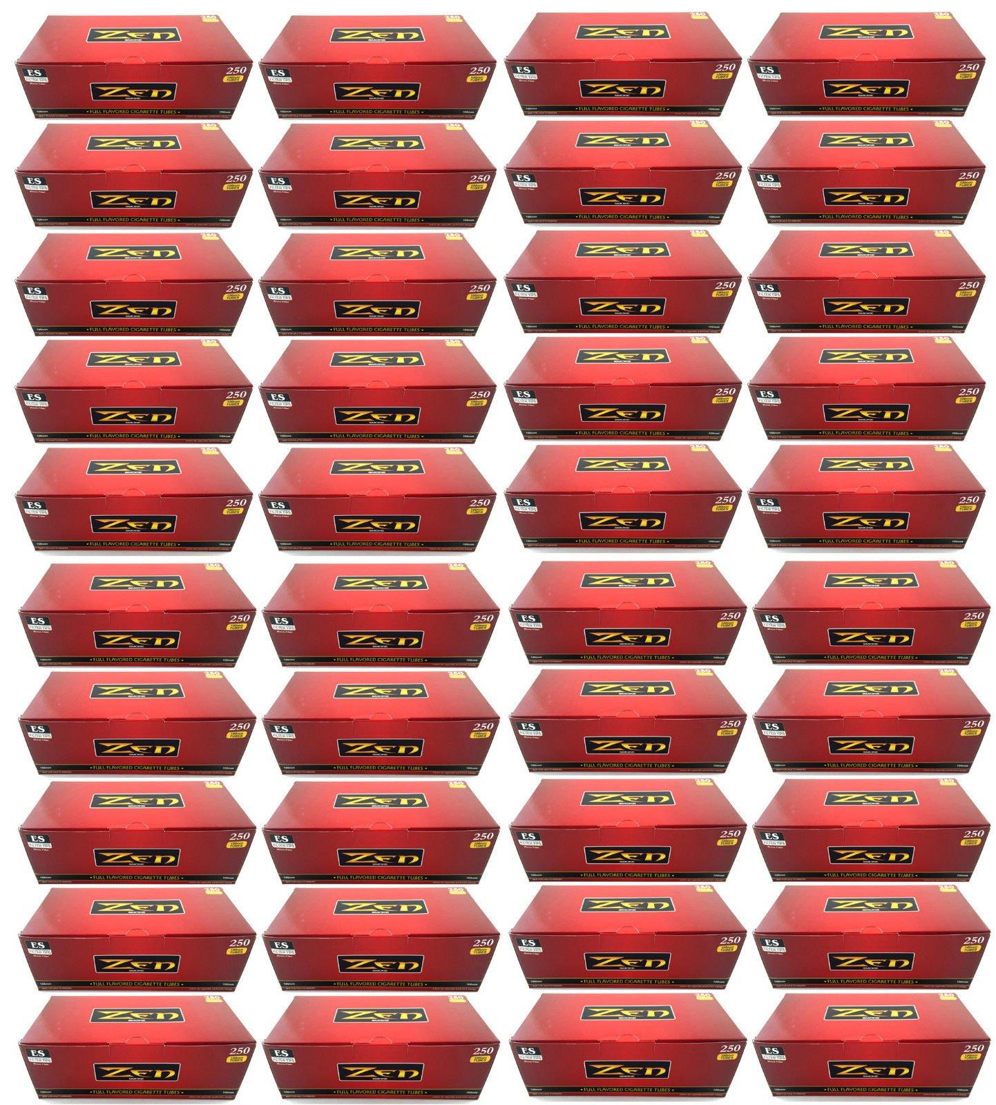 Zen Smoke Full Flavor 100 mm 100's Cigarette Filter Tubes (40)