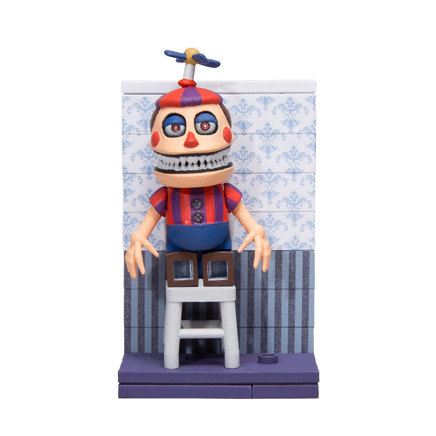 Five Nights At Freddy's Construction Set Fun With Balloon Boy Micro Set Neca 12665-5