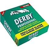 Derby Professional Single Edge Razor Blades, 100 Count